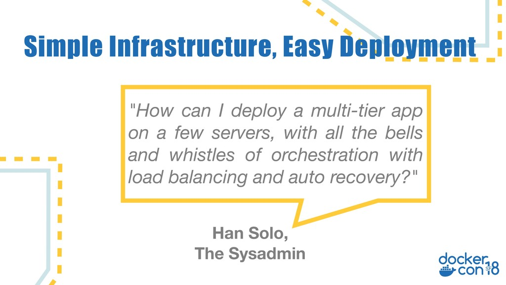 "Simple Infrastructure, Easy Deployment ""How can..."