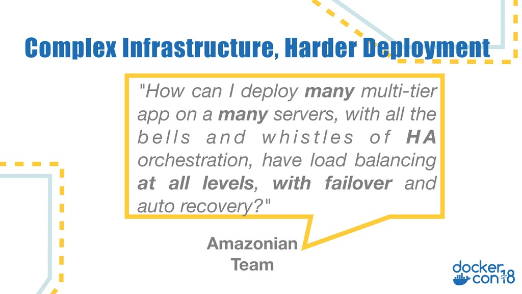 "Complex Infrastructure, Harder Deployment ""How ..."