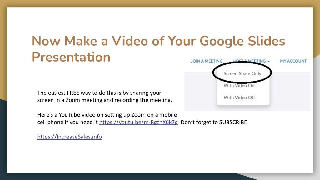 Now Make a Video of Your Google Slides Presenta...