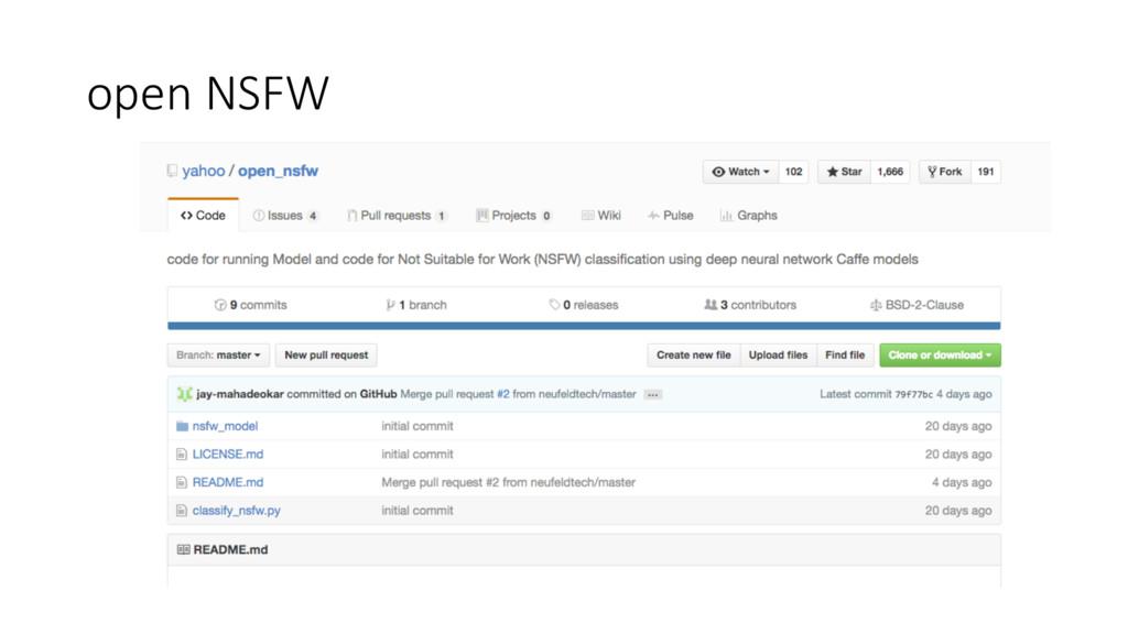 open NSFW