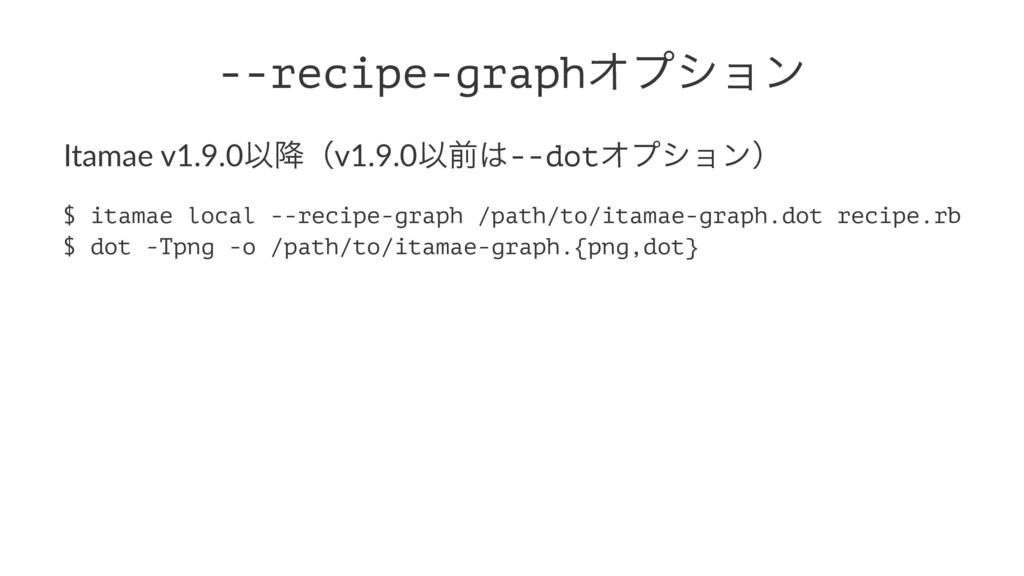 --recipe-graphΦϓγϣϯ Itamae v1.9.0Ҏ߱ʢv1.9.0Ҏલ--...