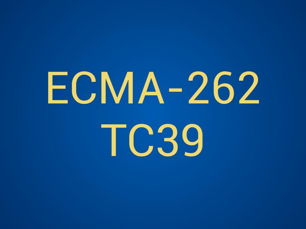 ECMA-262 TC39