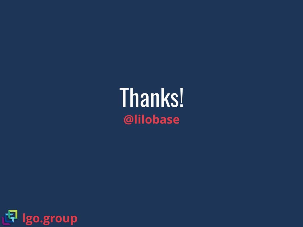 Thanks! @lilobase lgo.group