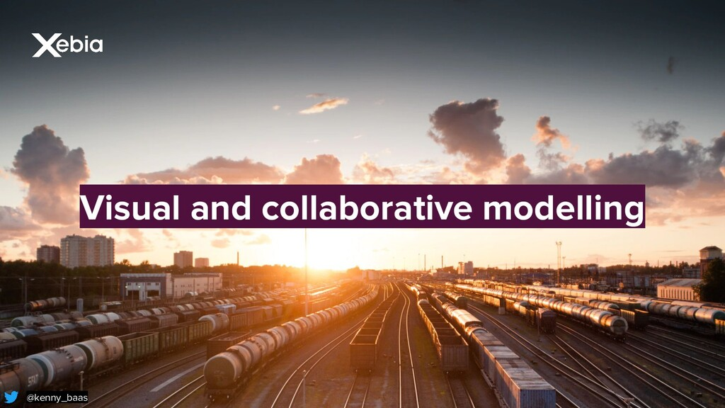 Visual and collaborative modelling @kenny_baas