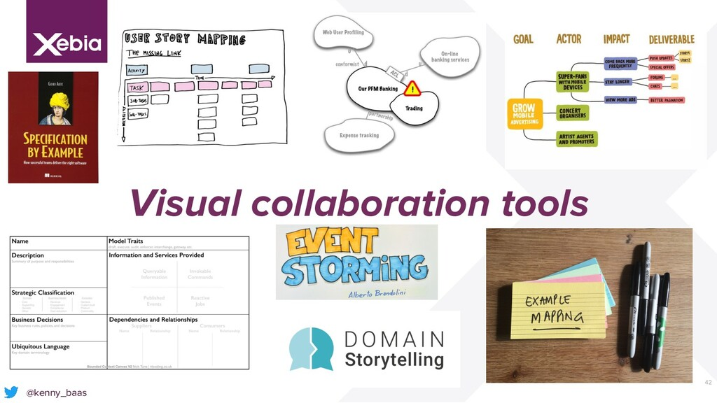 42 Visual collaboration tools @kenny_baas