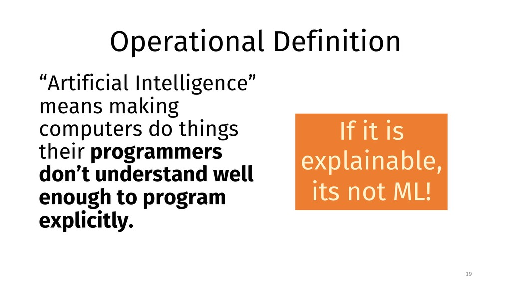 """Operational Definition """"Artificial Intelligence..."""