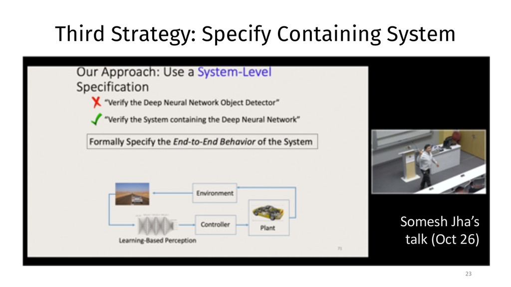 Third Strategy: Specify Containing System 23 So...