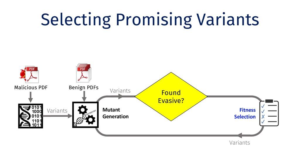 Variants Selecting Promising Variants Clone Ben...