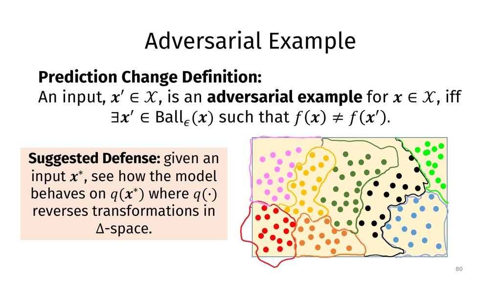 Adversarial Example 80 Prediction Change Defini...