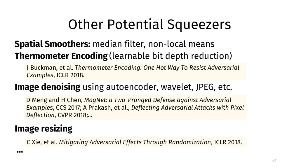 Other Potential Squeezers 87 C Xie, et al. Miti...