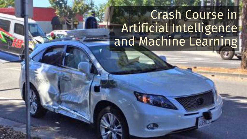 Crash Course in Artificial Intelligence and Mac...