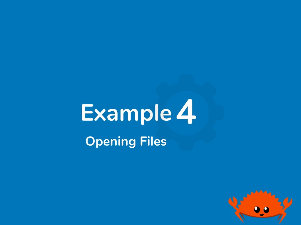 Example4 Opening Files