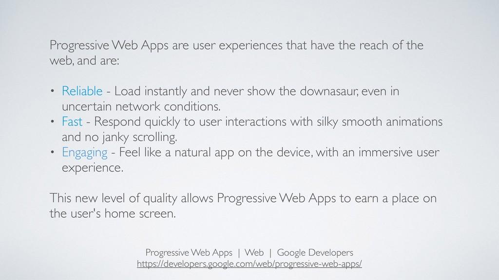 Progressive Web Apps   Web   Google Developers ...