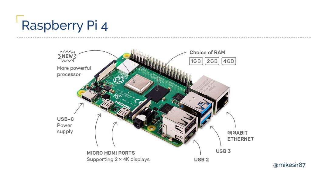 @mikesir87 Raspberry Pi 4