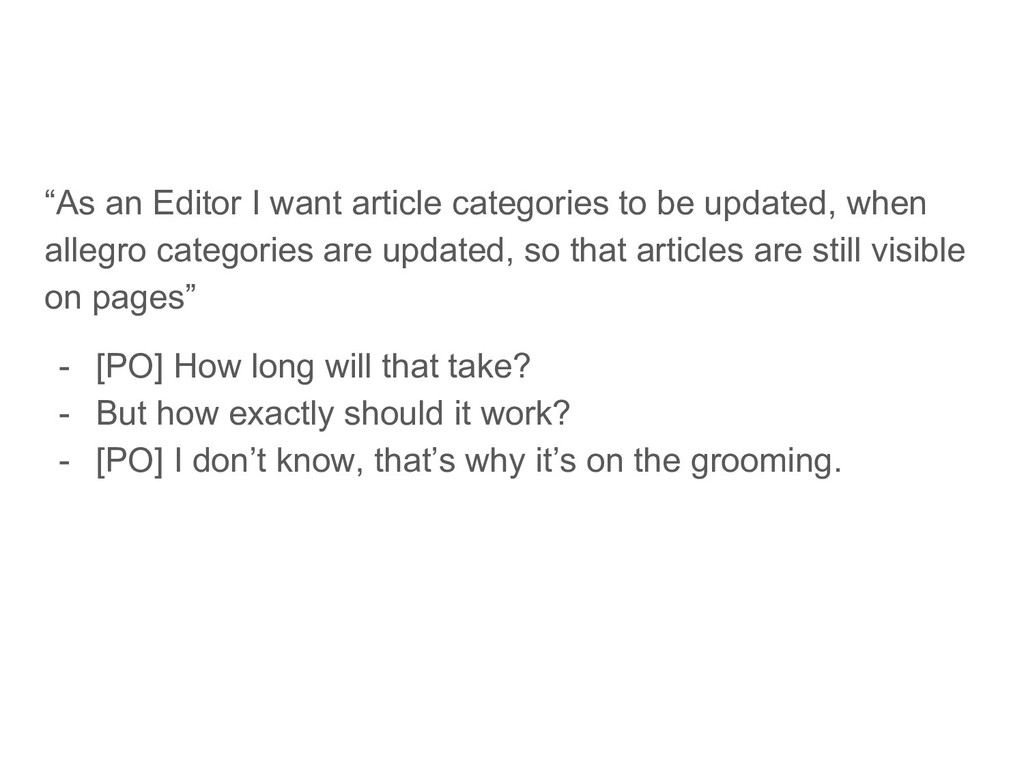 """""""As an Editor I want article categories to be u..."""