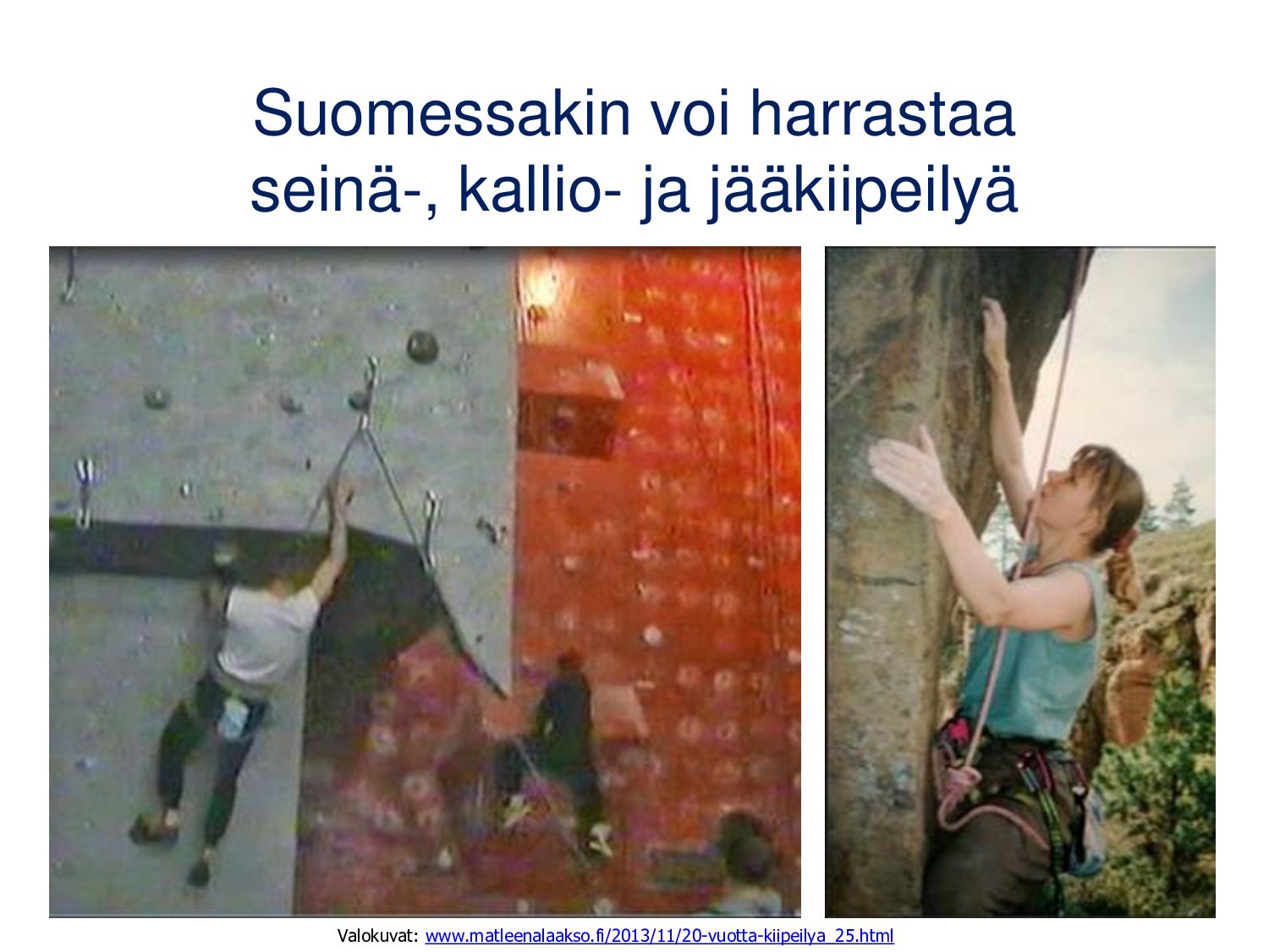 El Capitanin kuuluisin kiipeilyreitti on The No...