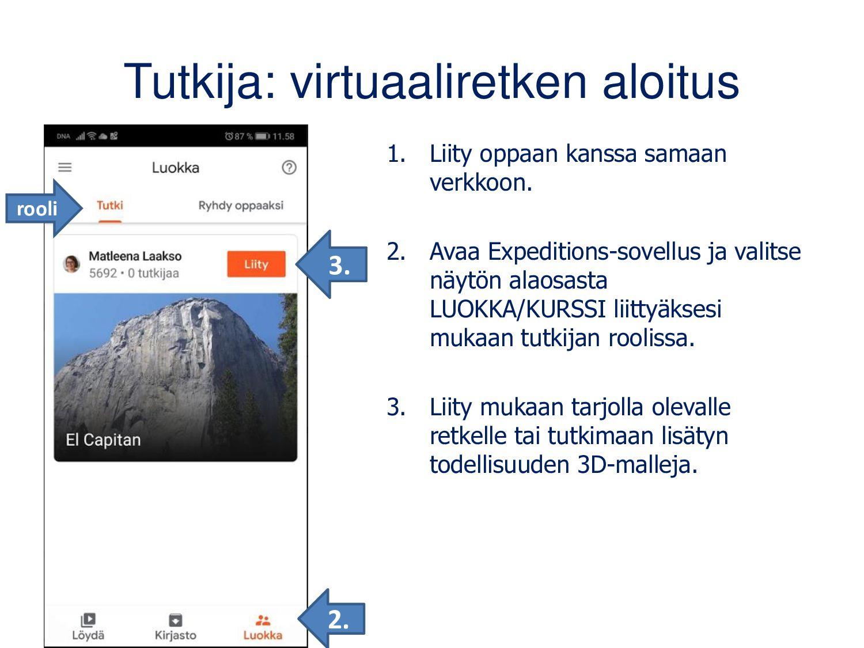 Opas: virtuaaliretken aloitus 1. Lataa AR/VR-si...