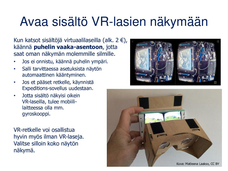 Tutkija: virtuaaliretken aloitus 1. Liity oppaa...