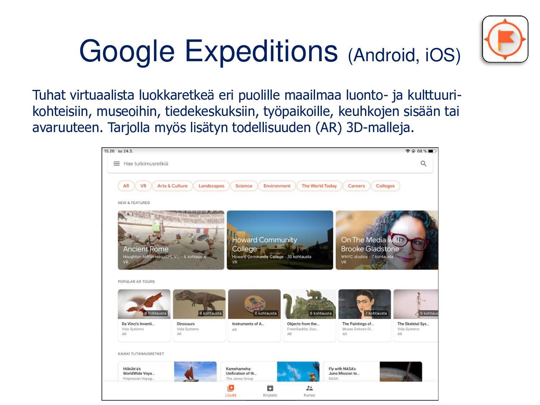 Virtuaaliset luokkaretket Esittelin koronakevää...