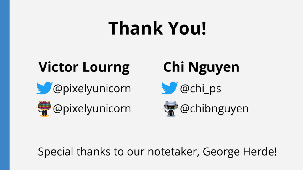 Thank You! Victor Lourng @pixelyunicorn @pixely...