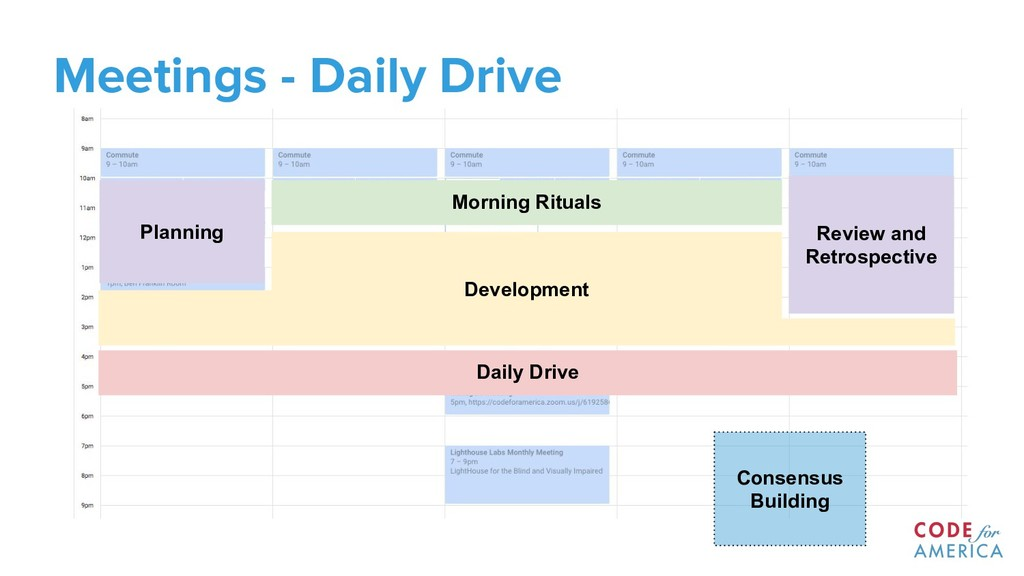 Meetings - Daily Drive Morning Rituals Daily Dr...