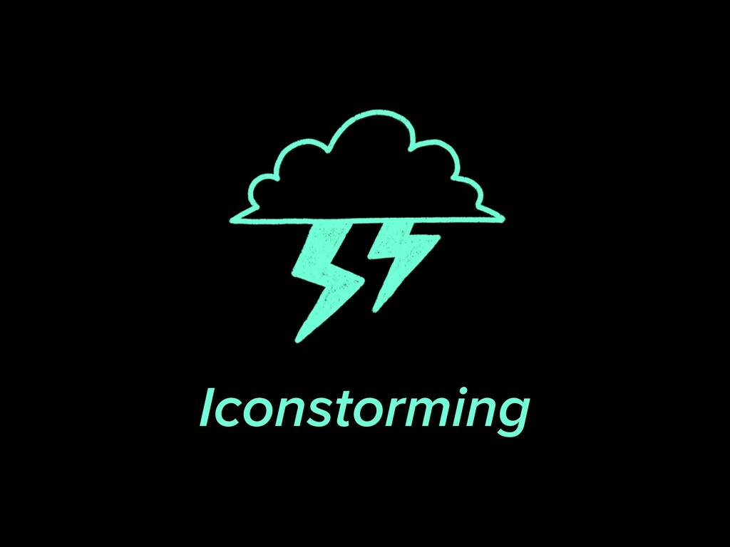 Iconstorming