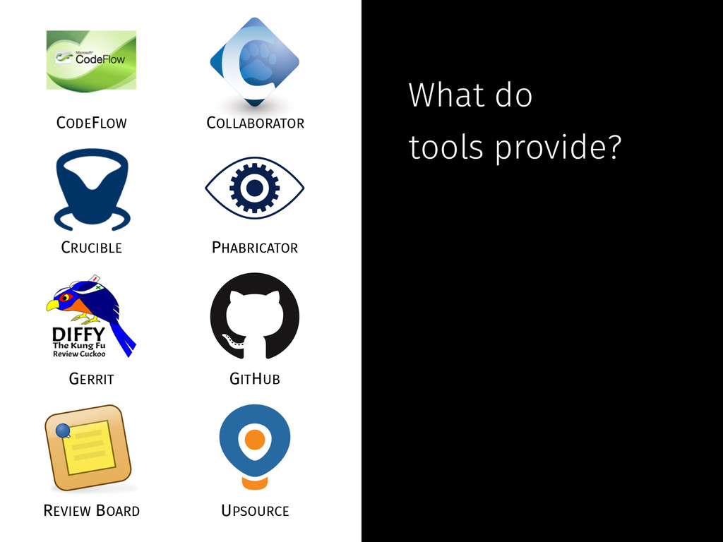 What do tools provide? CODEFLOW COLLABORATOR CR...