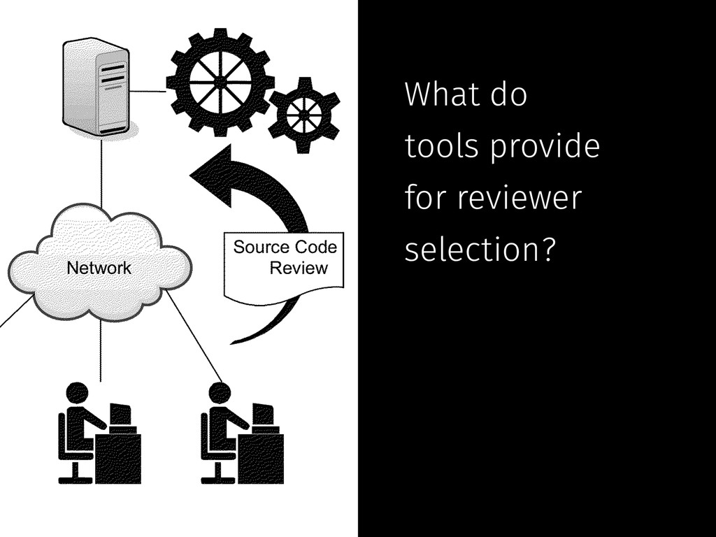 What do tools provide for reviewer selection?
