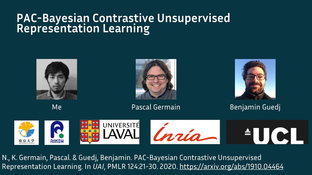 PAC-Bayesian Contrastive Unsupervised Represent...