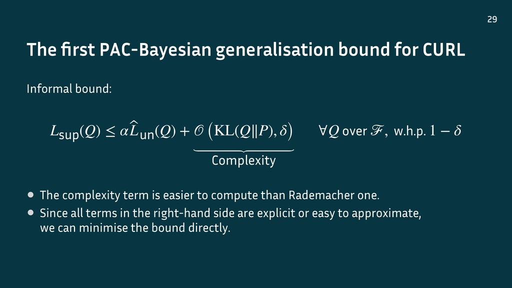 The first PAC-Bayesian generalisation bound for ...