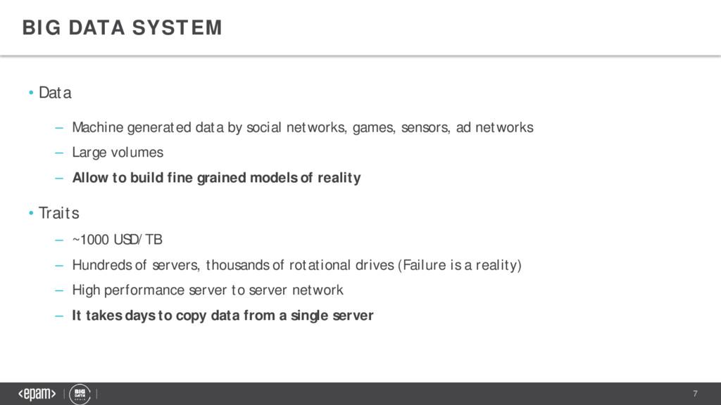 7 • Data – Machine generated data by social net...