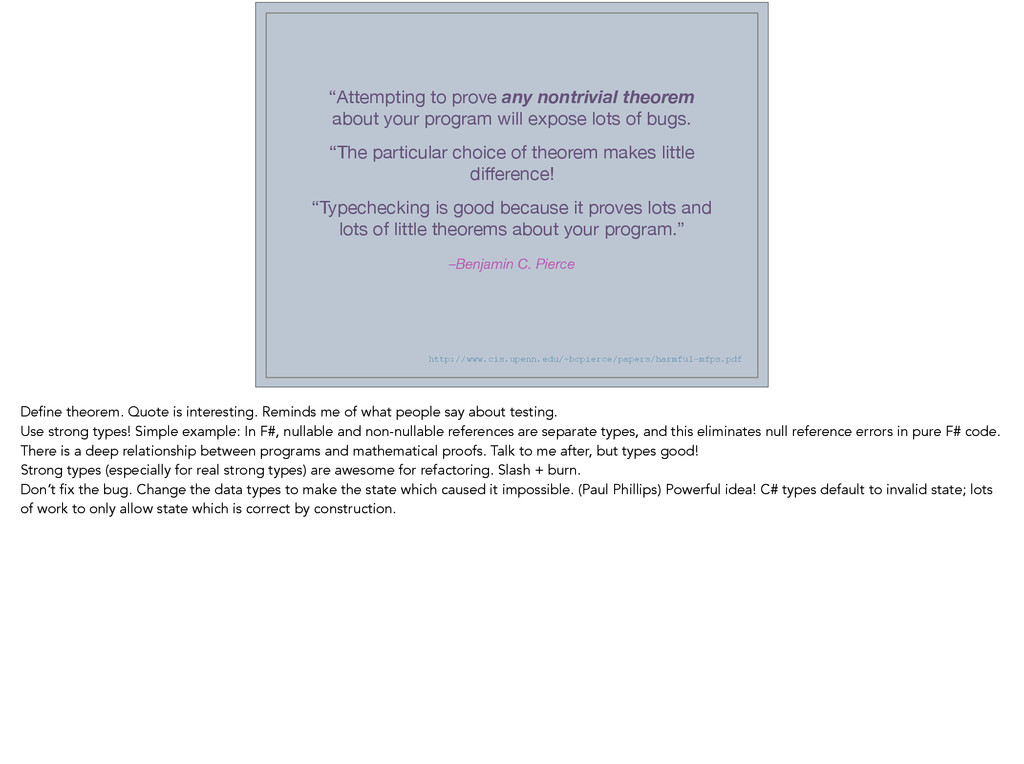 """""""Attempting to prove any nontrivial theorem abo..."""
