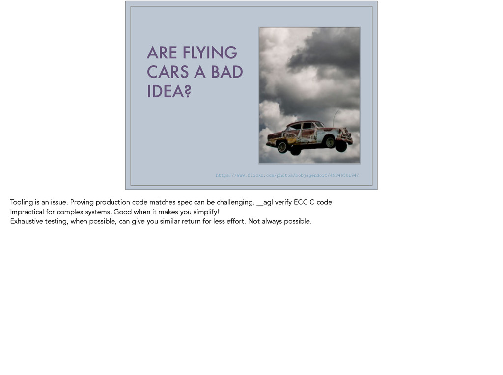 ARE FLYING CARS A BAD IDEA? https://www.flickr....