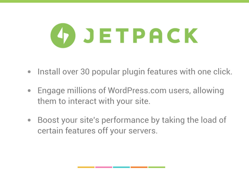 • Install over 30 popular plugin features with ...