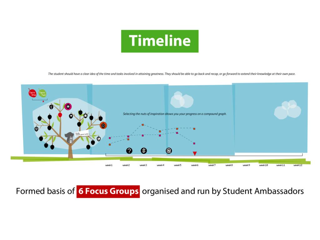Timeline Formed basis of 6 Focus Groups organis...