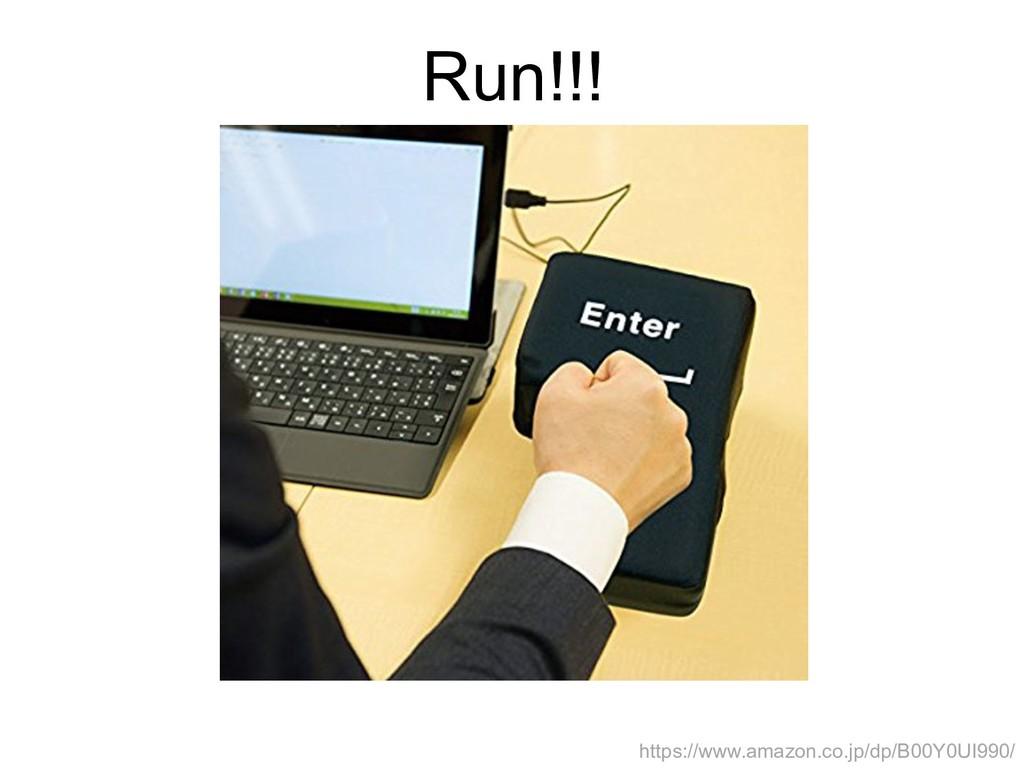 Run!!! https://www.amazon.co.jp/dp/B00Y0UI990/