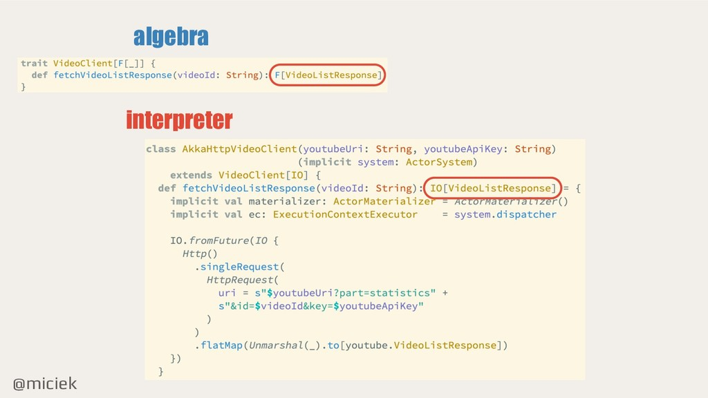 @miciek algebra interpreter