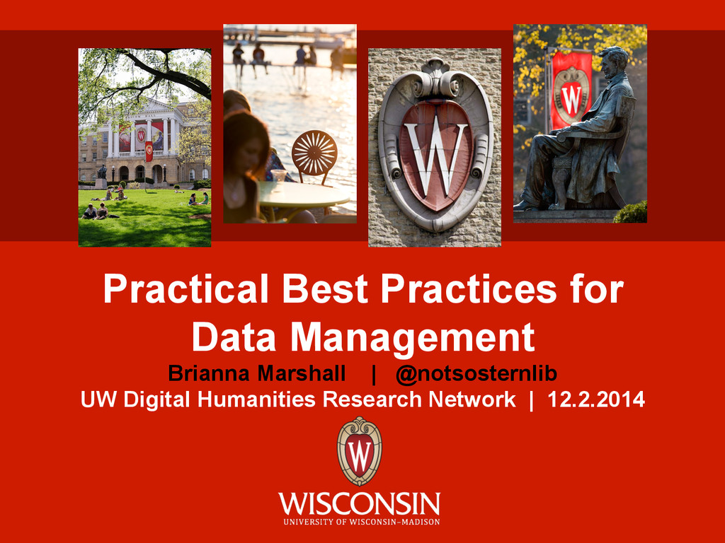 Practical Best Practices for Data Management Br...