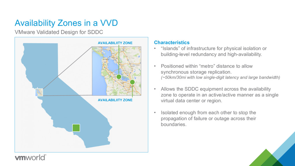 Availability Zones in a VVD VMware Validated De...