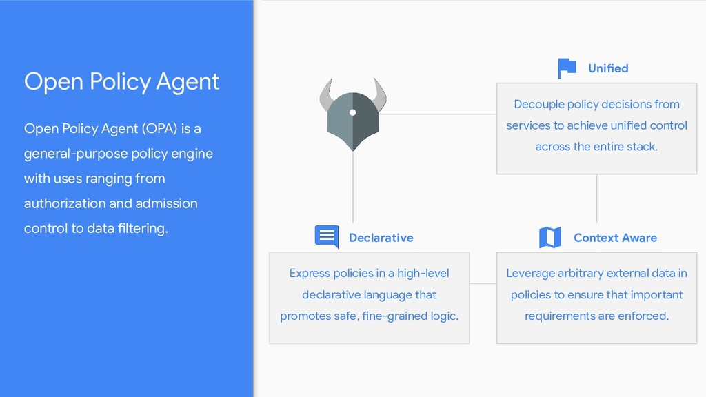 Open Policy Agent (OPA) is a general-purpose po...