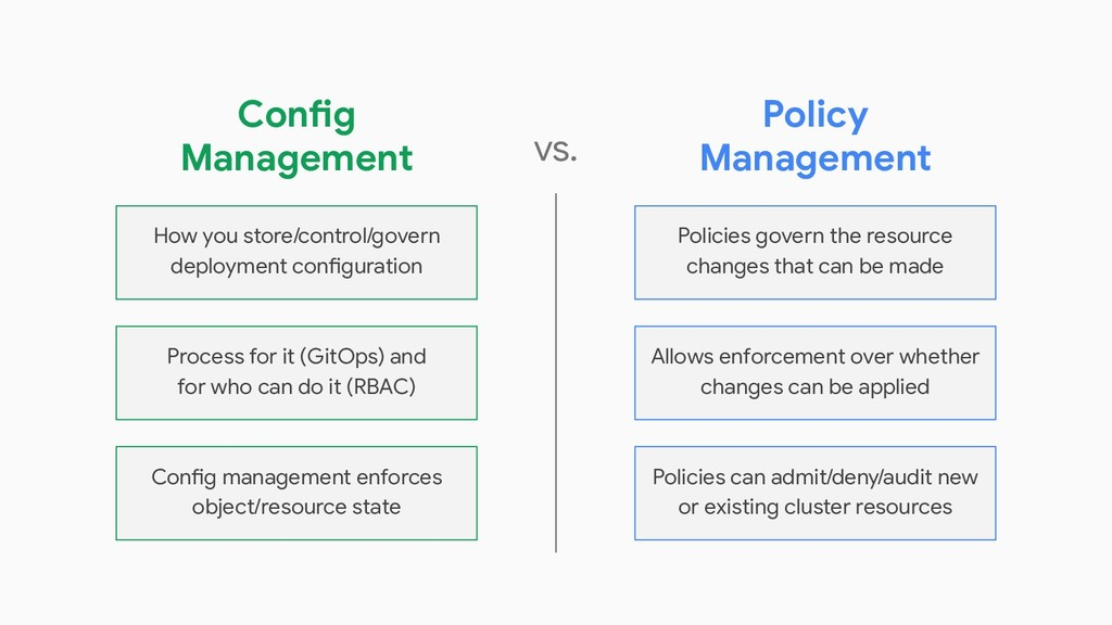 How you store/control/govern deployment configu...
