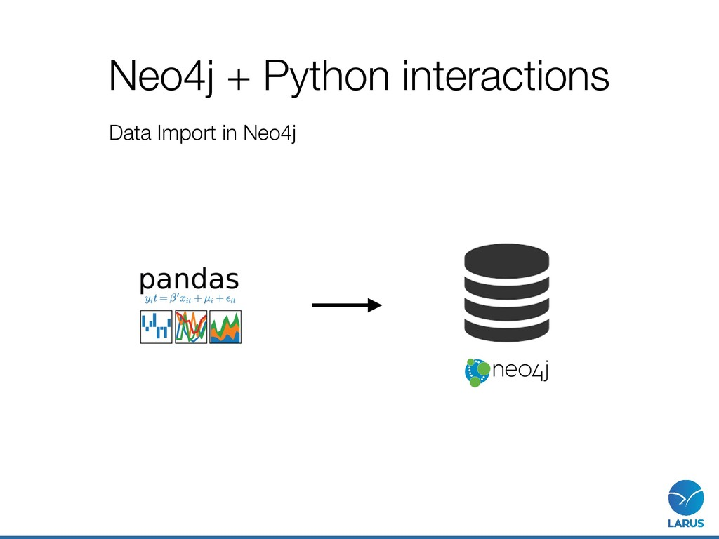 Neo4j + Python interactions Data Import in Neo4j