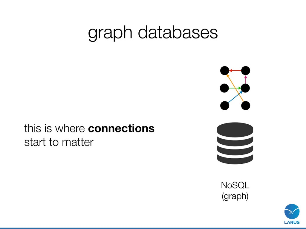graph databases this is where connections  sta...