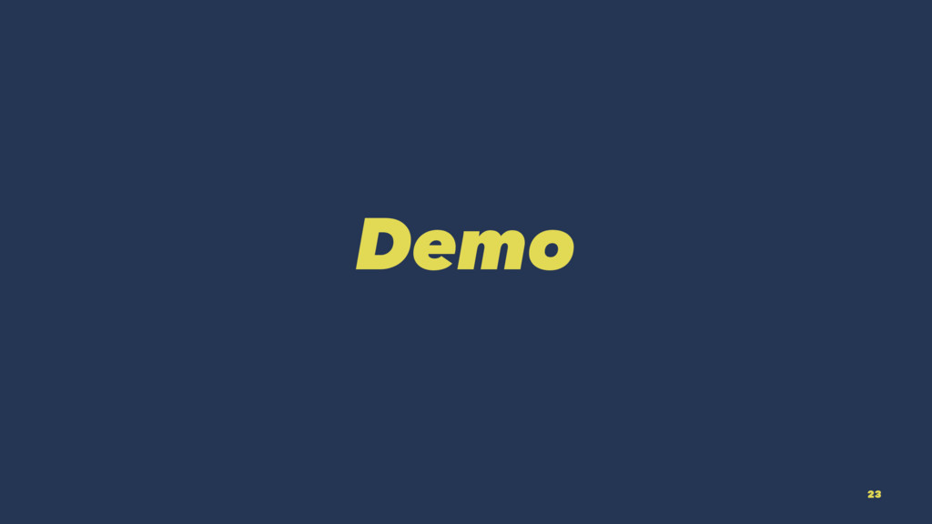 Demo 23