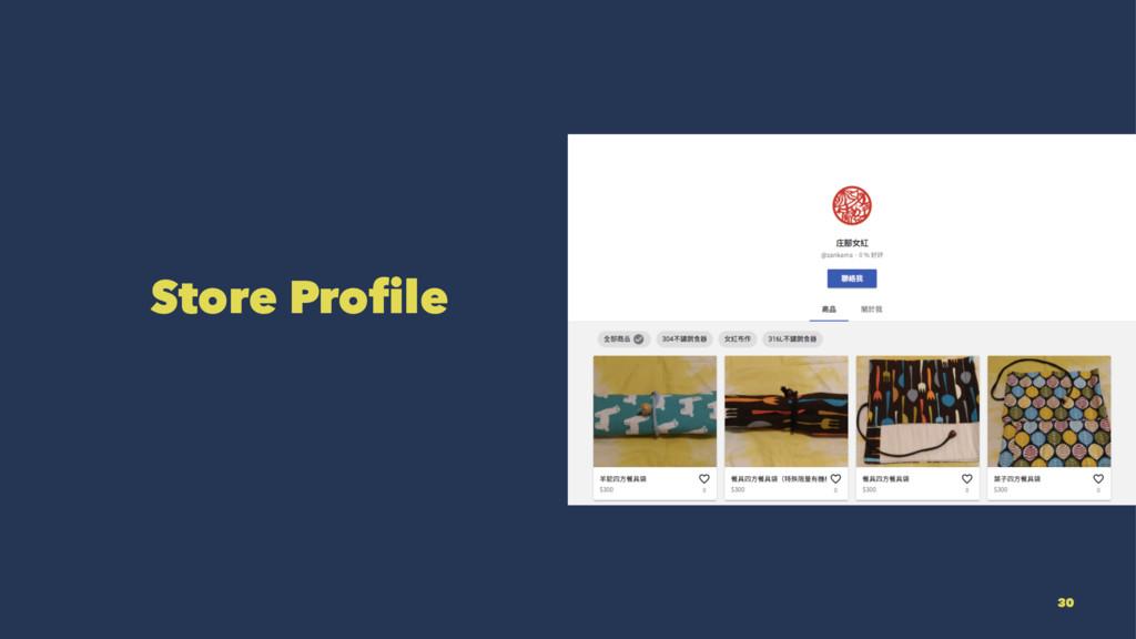 Store Profile 30