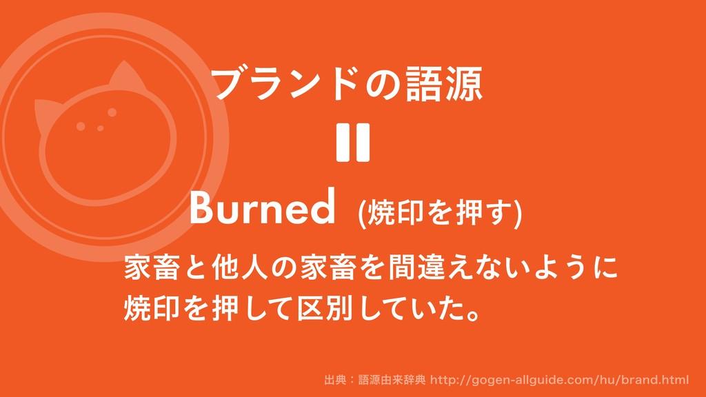 ϒϥϯυͷޠݯ ՈசͱଞਓͷՈசΛؒҧ͑ͳ͍Α͏ʹ মҹΛԡͯ۠͠ผ͍ͯͨ͠ɻ Burned...