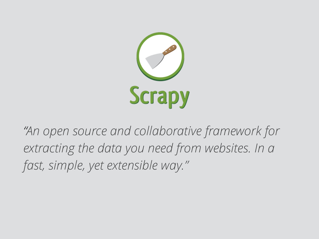 """An open source and collaborative framework for..."