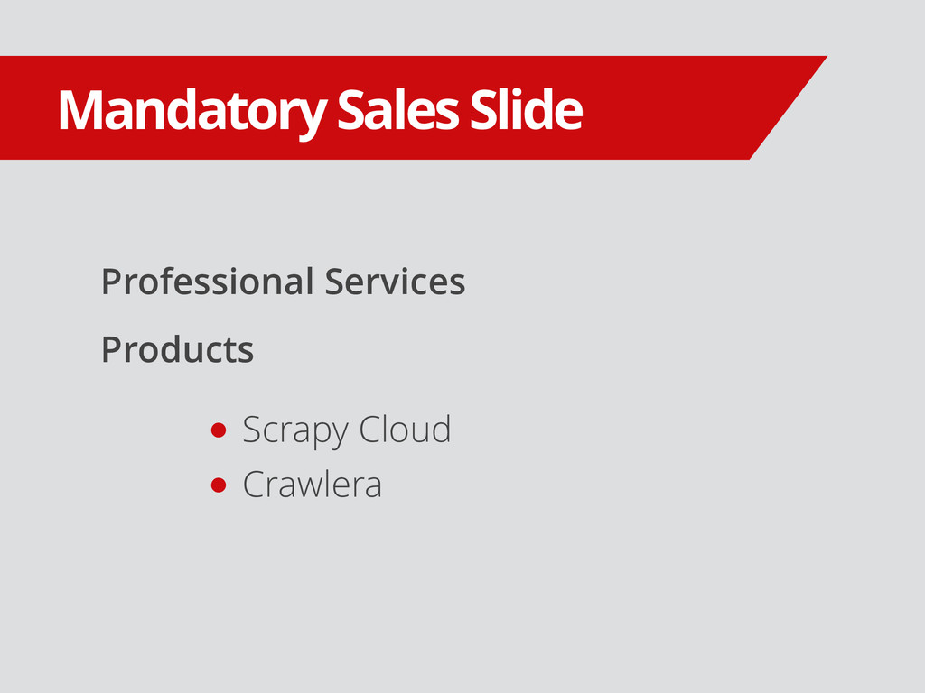 Professional Services Products Mandatory Sales ...