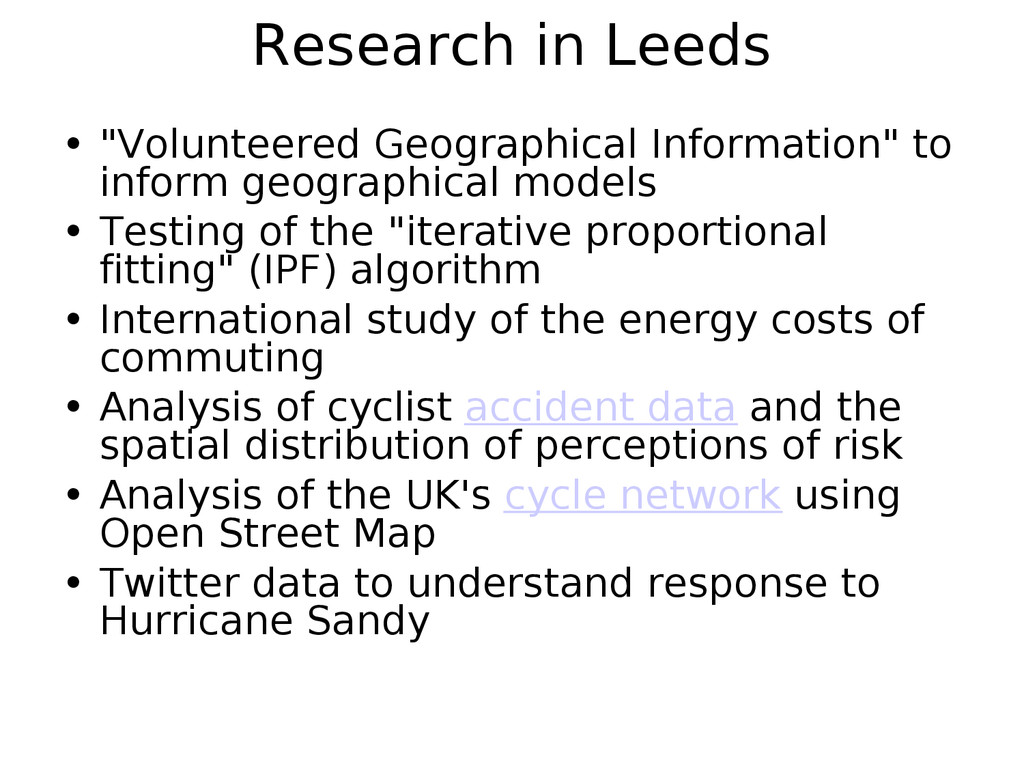 "Research in Leeds • ""Volunteered Geographical I..."
