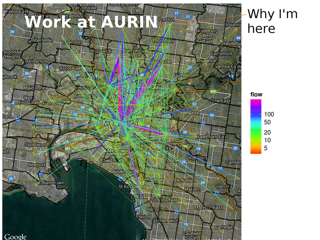 Why I'm here Work at AURIN